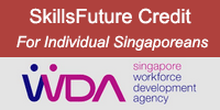 Individual Singaporeans can use SkillsFuture Credits for Training Courses