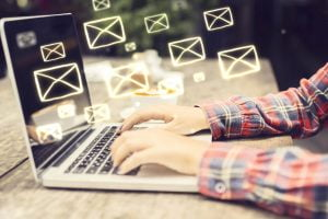 writing a professional email