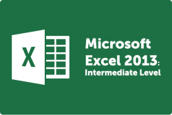 Learn Intermediate Excel 2013 at Intellisoft