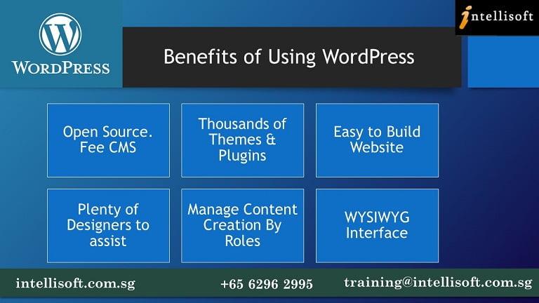 Benefits of Using WordPress For Web Design
