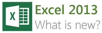 New Features of Excel