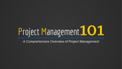 Learn Project Management 101 at Intellisoft