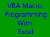 Practical hands-on VBA training in Singapore