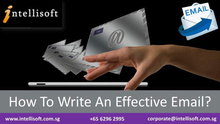 Learn to Write Effective Emails at Intellisoft Singapore