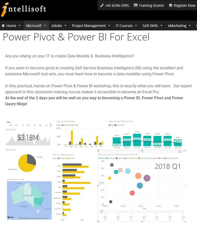 Power BI Training in Singapore