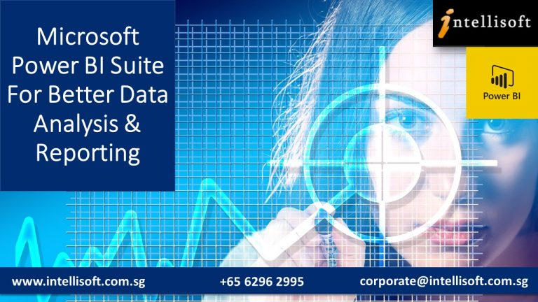 Learn Power BI for Reporting & Analysis at Intellisoft Singapore