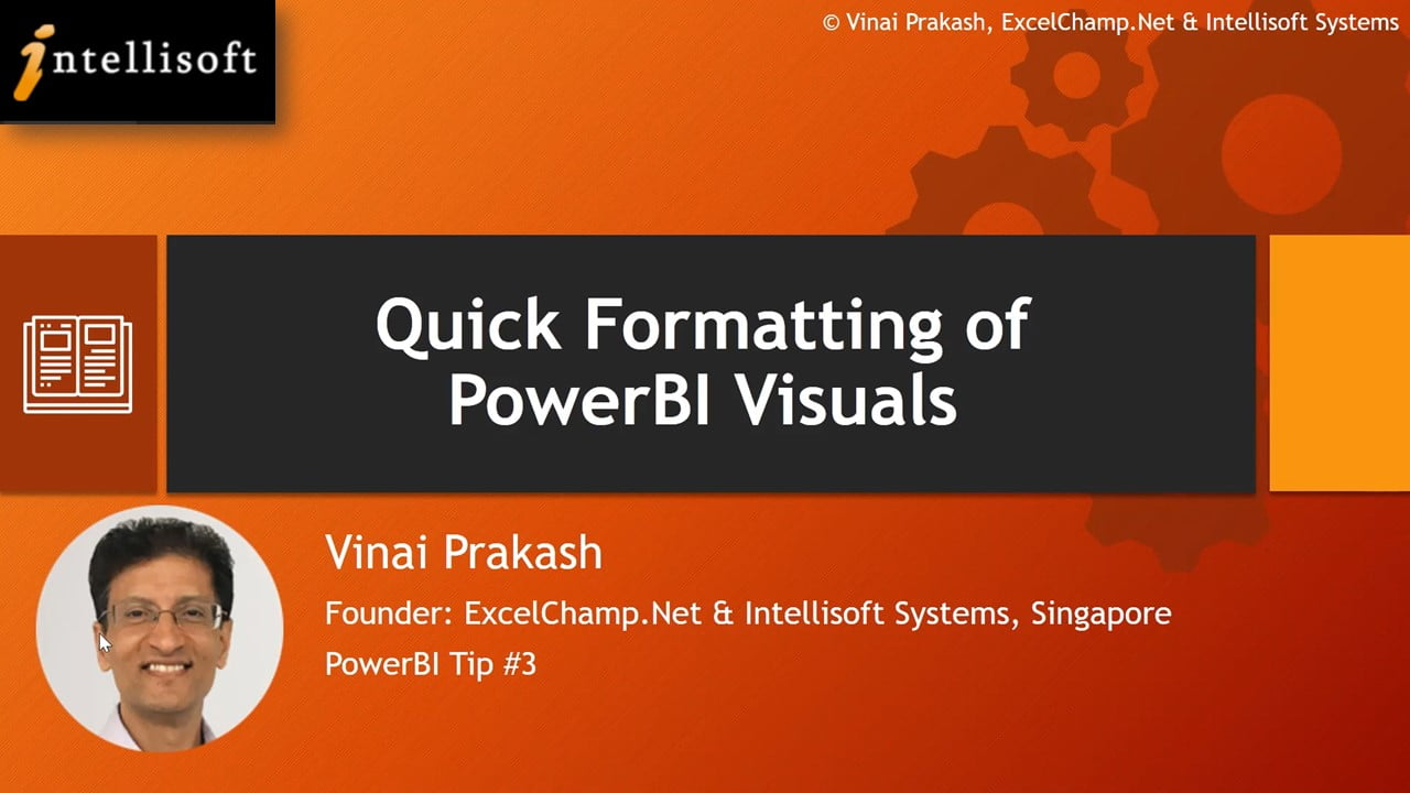 Learn to Format Visuals in Power BI at Intellisoft Singapore