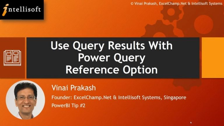 Learn PowerQuery Reference at Intellisoft Singapore
