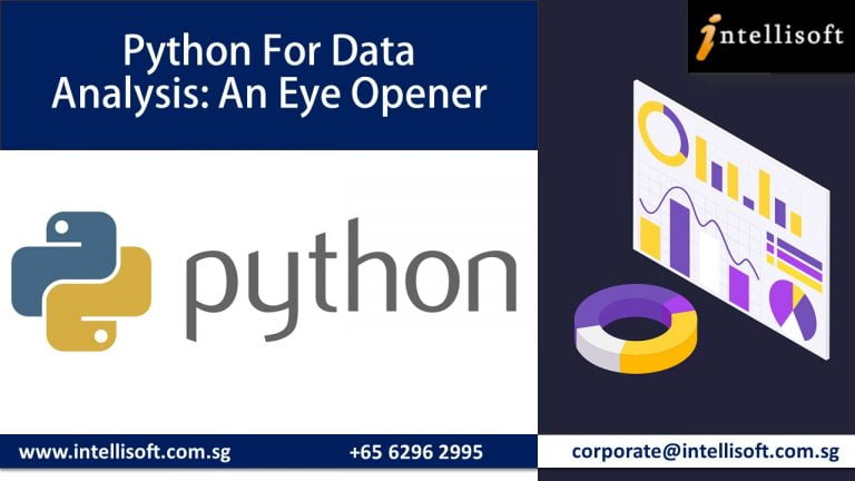 Learn Python for Data Analysis at Intellisoft Singapore