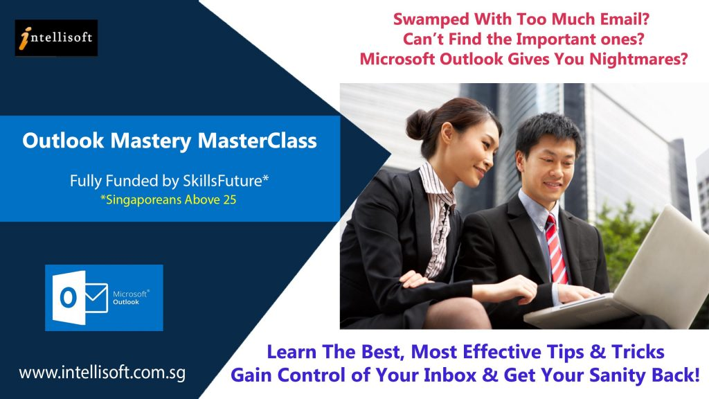 Intellisoft Outlook Training Singapore for Managing Emails Better