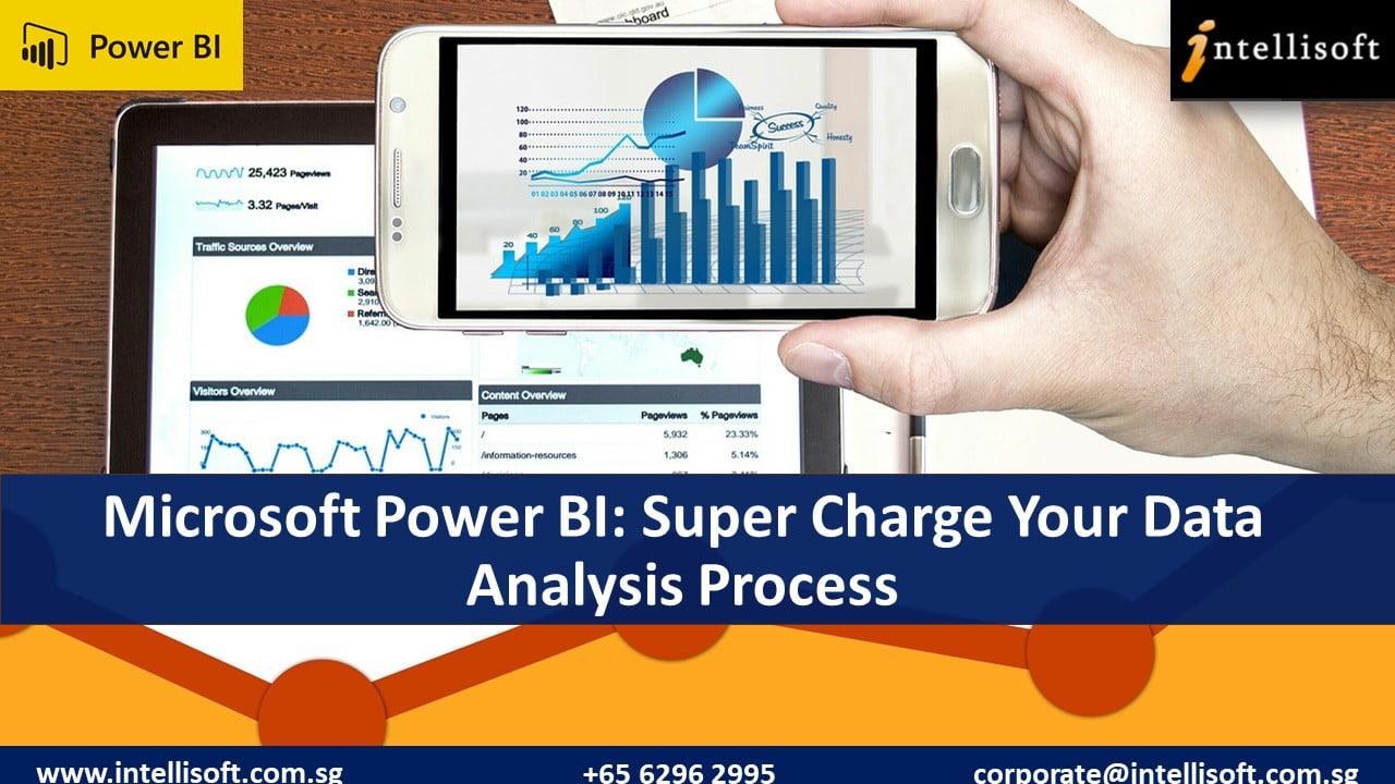 Learn Power BI for Data Analysis at Intellisoft Singapore