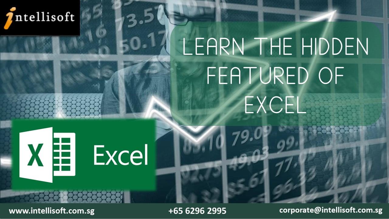 Hidden features of Excel
