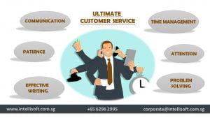 Skills customer service person should possess
