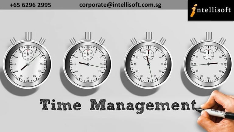 Time Management Workshop in Singapore at Intellisoft