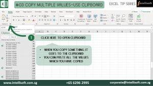 Copy Multiple values using Clipboard
