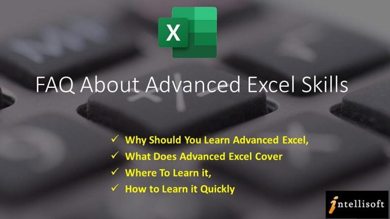 FAQ About Advanced Excel Training